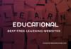 Best Free Learning websites