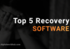 Top five recovery soft