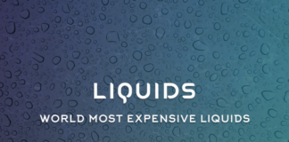 World Most Expensive Liquids