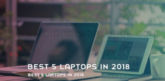 Best 5 Laptops In 2018