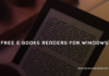 Free E Books Readers for Windows