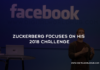Zuckerberg Focuses on His 2018 Challenge