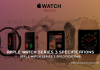 Apple Watch Series 3 Specifications 1