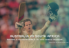 Australia vs South Africa 1st Test series Thursday