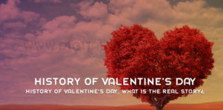 History of Valentines Day What is The Real Story
