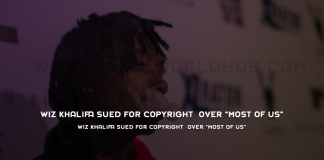 "Wiz Khalifa Sued for Copyright Over ""Most of Us"""