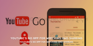 YouTube's Go App For Watching and Sharing