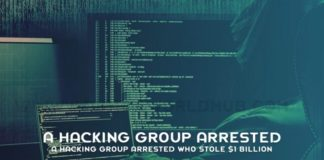A Hacking Group Arrested Who Stole 1 Billion