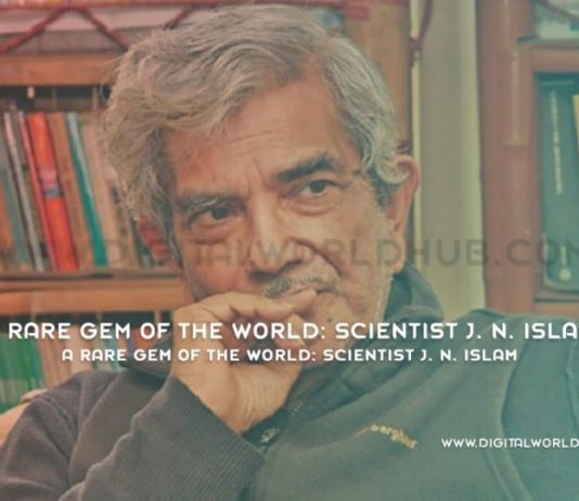 A Rare Gem Of The World Scientist J. N