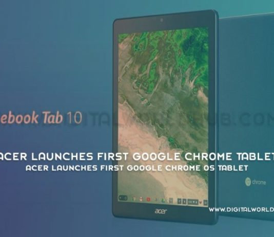 Acer Launches First Google Chrome OS Tablet