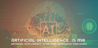 Artificial Intelligence Is Far More Dangerous Than Nukes