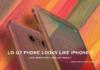 LG G7 Smartphone Looks Like iPhone X