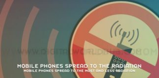 Mobile Phones Spread To The Most And Less Radiation