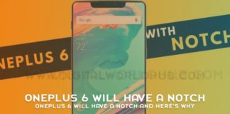 OnePlus 6 Will Have A Notch And Here's Why