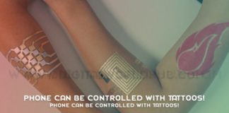 Phone Can Be Controlled With Tattoos