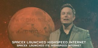SpaceX Launched Its HighSpeed Internet