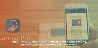 That Application Is Harmful For Your Phone