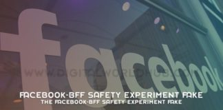The Facebook BFF Safety Experiment Fake
