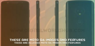 These Are Alleged Moto G6 Images And Features