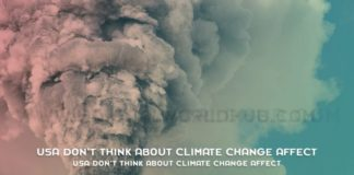 USA Dont Think About Climate Change Affect