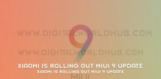Xiaomi Is Rolling Out MIUI 9 Update