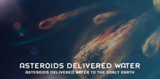 Asteroids Delivered Water To The Early Earth
