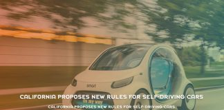 California Proposes New Rules For Self driving Cars