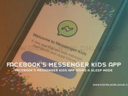 Facebook's Messenger Kids App Gains A Sleep Mode 1