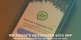 Facebook's Messenger Kids App Gains A Sleep Mode 1