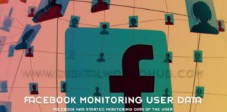 Facebook has started monitoring data of the user
