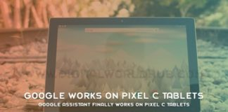 Google Assistant Finally Works On Pixel C Tablets