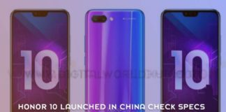 Honor 10 Launched In China Check Specs And More 1