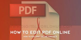 How To Edit PDF Online For Free