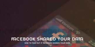 How To Find Out If Facebook Shared Your Data