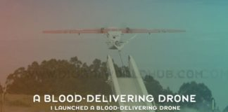I Launched A Blood Delivering Drone