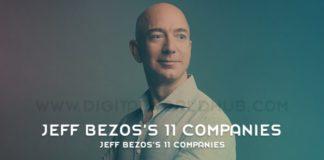 Jeff Bezoss 11 Companies