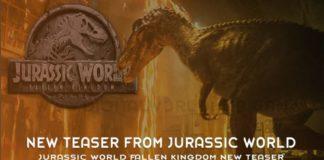 Jurassic World Fallen Kingdom New Teaser