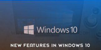 New Features Spring Creators Update In Windows 10