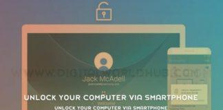 Unlock Your Computer Via Smartphone
