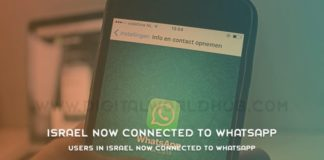 Users In Israel Now Connected To WhatsApp