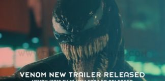 Venom 2018 film New Trailer Released