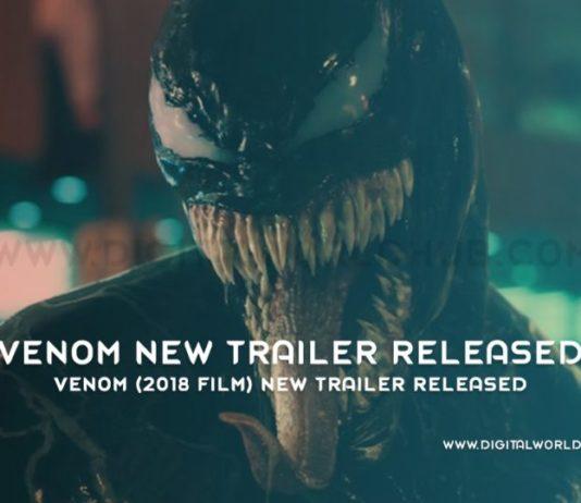 Venom 2018 film New Trailer Released
