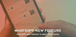 WhatsApp New Feature To Make Voice Notes