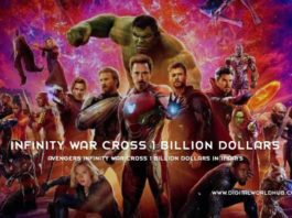 Avengers Infinity War Cross 1 Billion Dollars In 11 Days