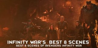 Best 8 Scenes Of Avengers Infinity War 1