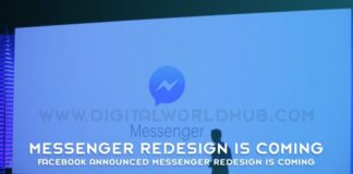 Facebook Announced Messenger Redesign Is Coming