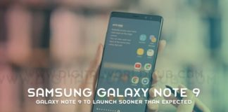 Galaxy Note 9 To Launch Sooner Than Expected