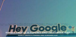 Google Creates AI Powered Emoji Scavenger Hunt