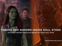 Joe Russo Cnfirms Thanos And Gamora Are Inside Soul Stone