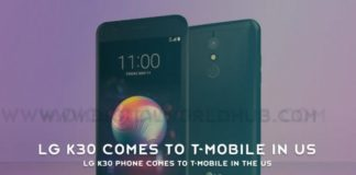 LG K30 Phone Comes To T Mobile In The Us